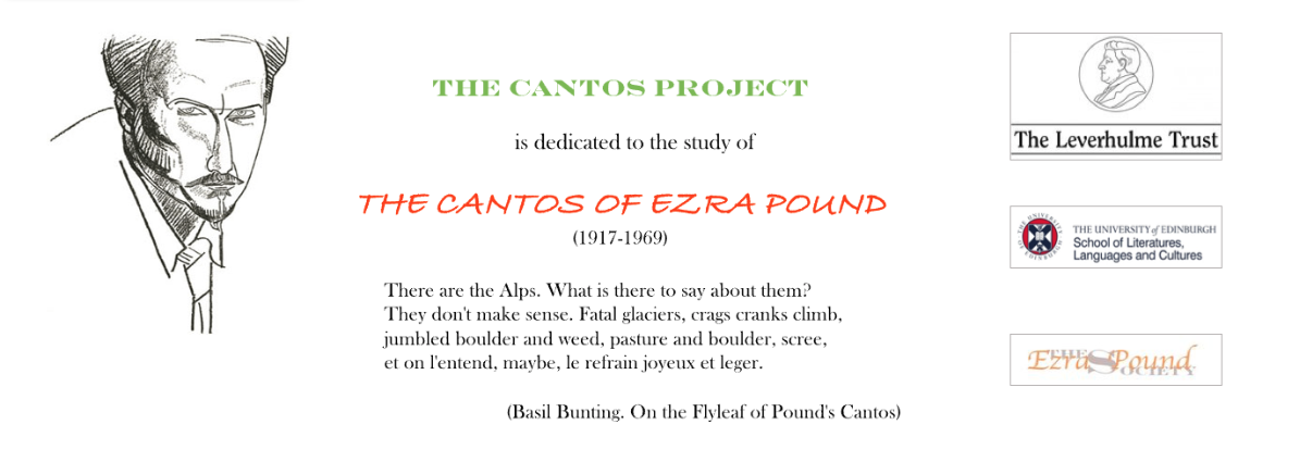The cantos project